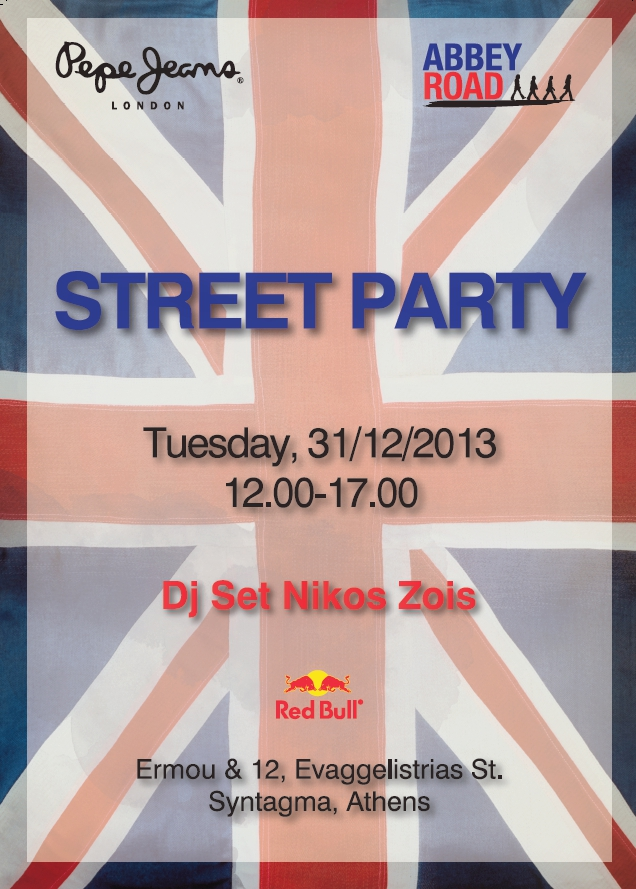 street party AbbeyRoadPepeJeans
