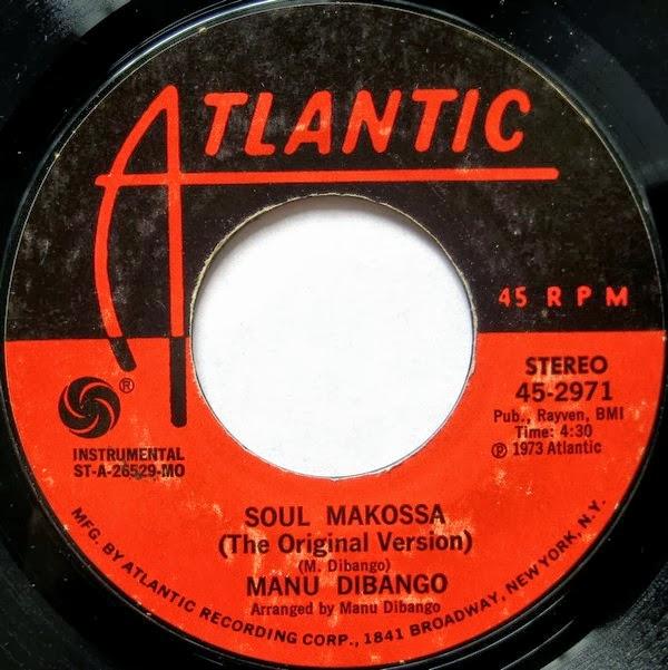 Manu Dibango - Soul Makossa_Single Cover A_1972_Atlantic_4,30
