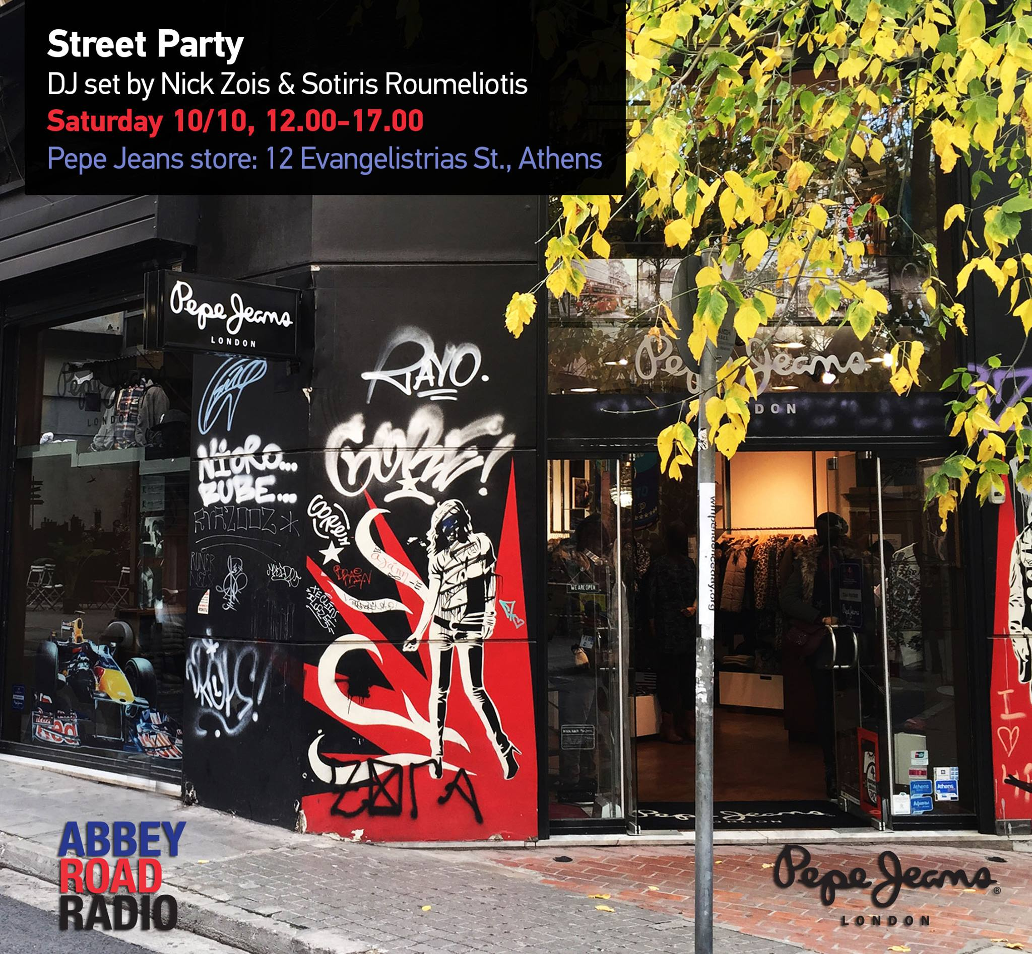 Pepe jeans store streetparty 10 10 special - Pepe jeans showroom ...