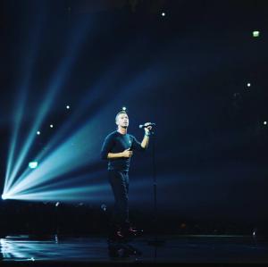 Chris Martin tibute to George Michael