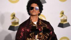 Grammys 2018 Bruno Mars