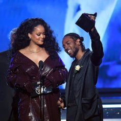 Kendrick Rihanna Grammys 2018